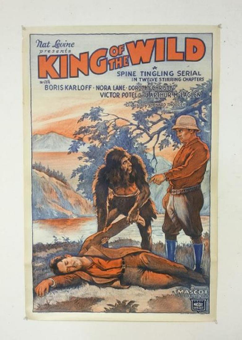 KING OF THE WILD 1 SHEET MOVIE POSTER, CIRCA 1931,