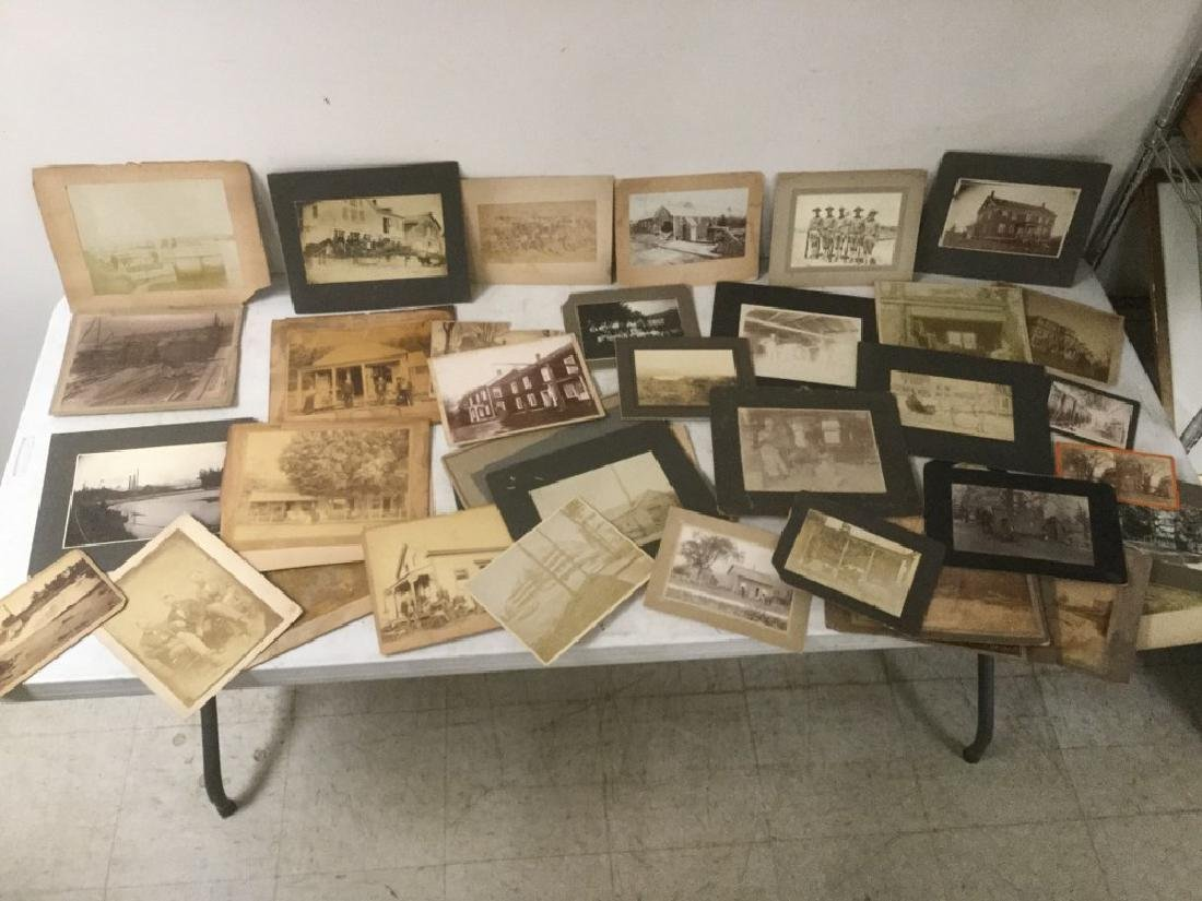 LARGE LOT EARLY CABINET & ALBUMEN PHOTOGRAPHS INCL.
