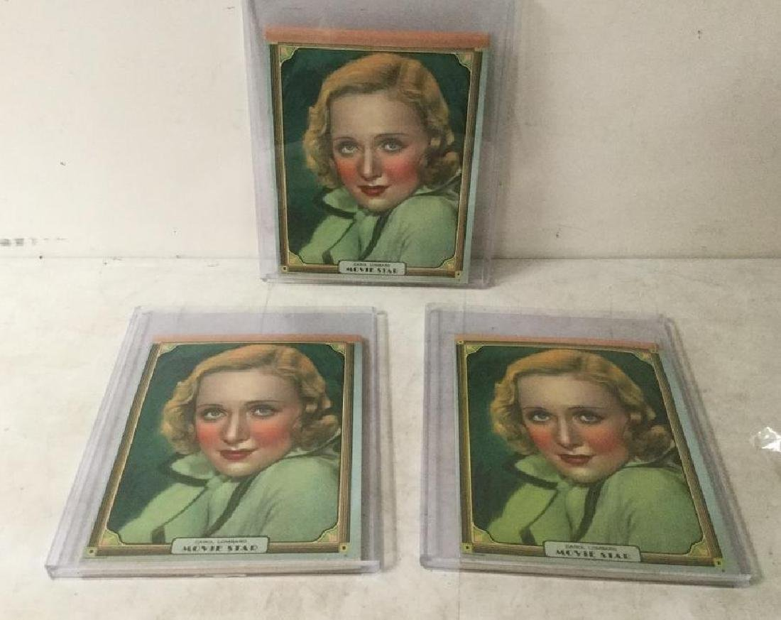 (3) CAROL LOMBARD NEW OLD STOCK NOTE PADS, IN VERY NICE