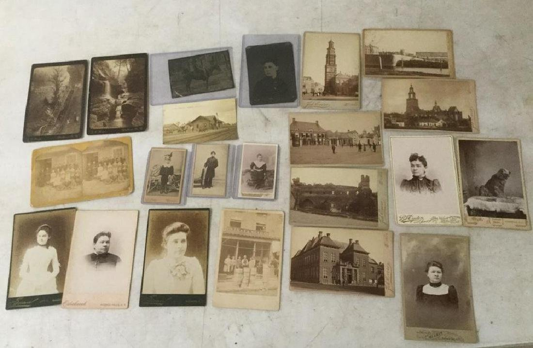 PHOTOGRAPH LOT EARLY AND INTERESTING PHOTOGRAPHS