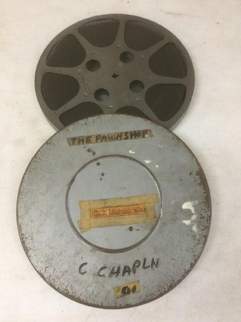 VINTAGE 16MM CHARLIE CHAPLIN MOVIE REEL- THE PAWN SHOP-