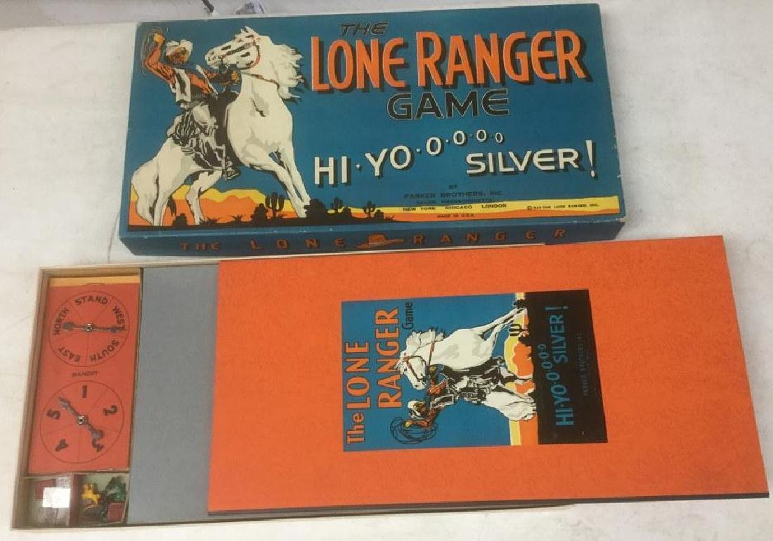 1938 PARKER BROTHERS LONE RANGER GAME HI YO SILVER, IN