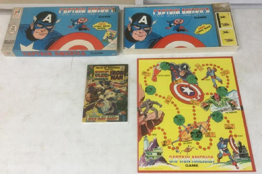 1966 CAPTAIN AMERICA GAME, MILTON BRADLEY, EXCELLENT