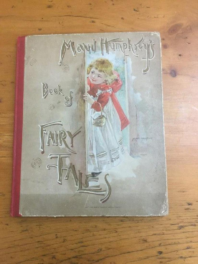 MAUD HUMPHREYS BOOK OF FAIRY TALES 1892, LOOSE INTERIOR