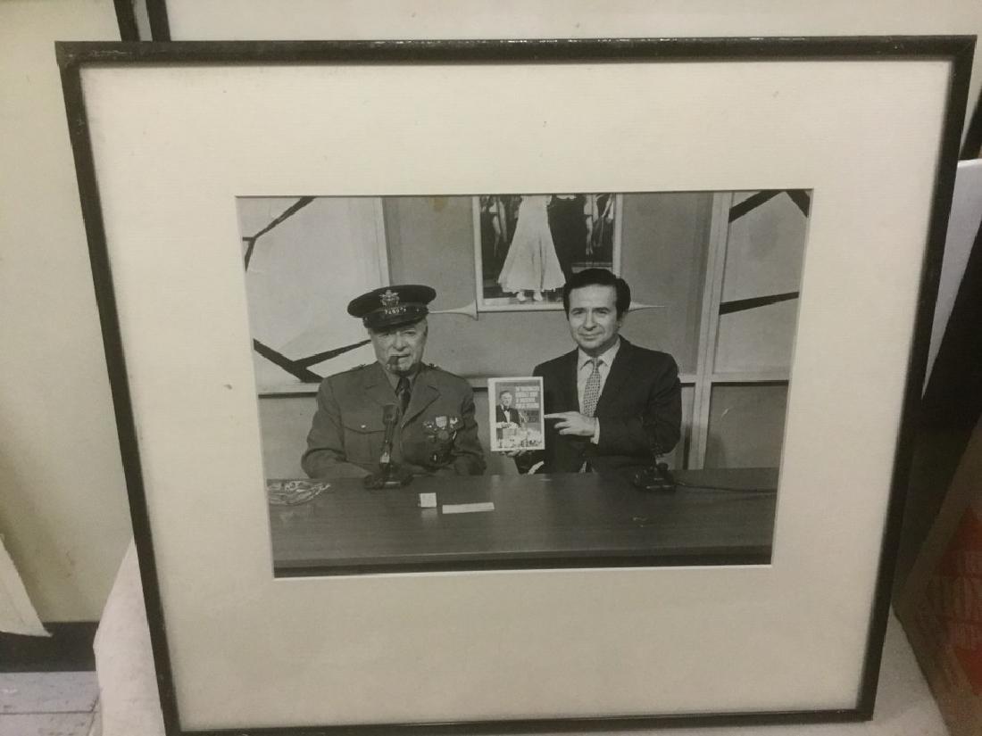 JOE FRANKLIN RADIO HOST ICON-10 FRAMED PHOTOS FROM HIS - 4