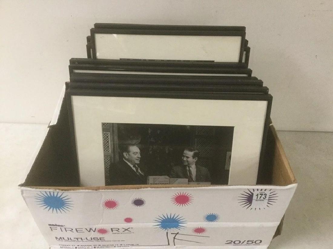 JOE FRANKLIN RADIO HOST ICON-10 FRAMED PHOTOS FROM HIS
