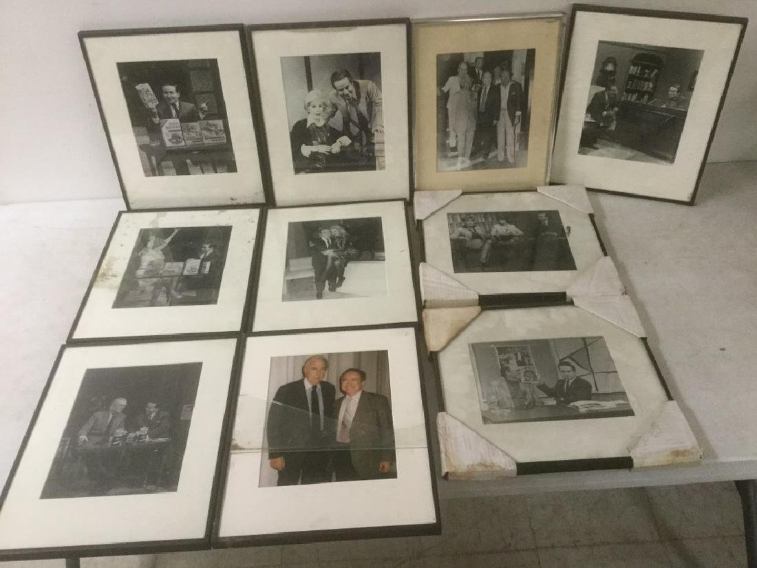 JOE FRANKLIN RADIO HOST ICON-10 FRAMED PHOTOS FROM HIS - 2