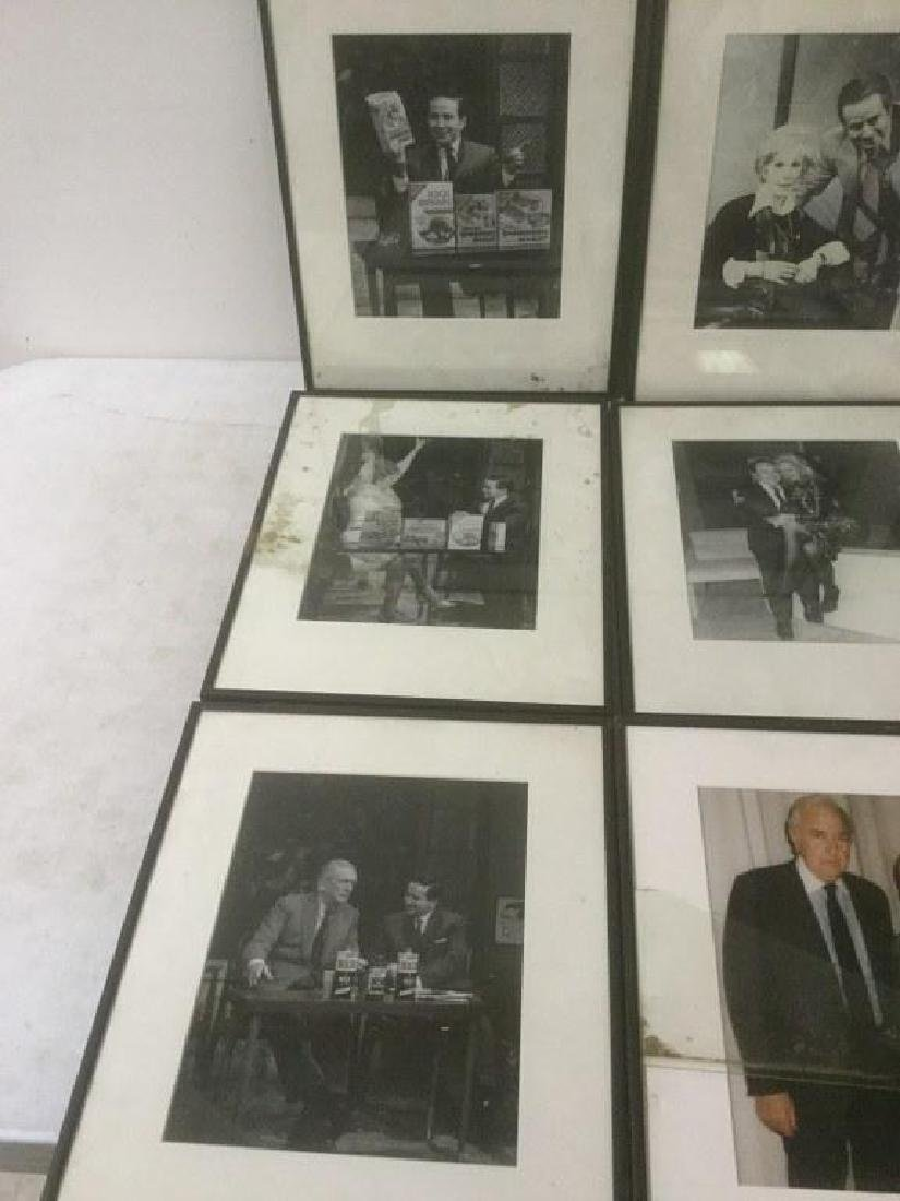 JOE FRANKLIN RADIO HOST ICON-10 FRAMED PHOTOS FROM HIS - 3