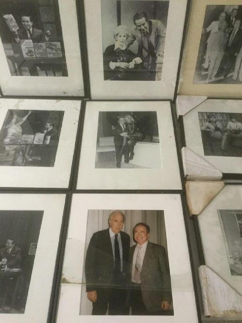 JOE FRANKLIN RADIO HOST ICON-10 FRAMED PHOTOS FROM HIS - 4