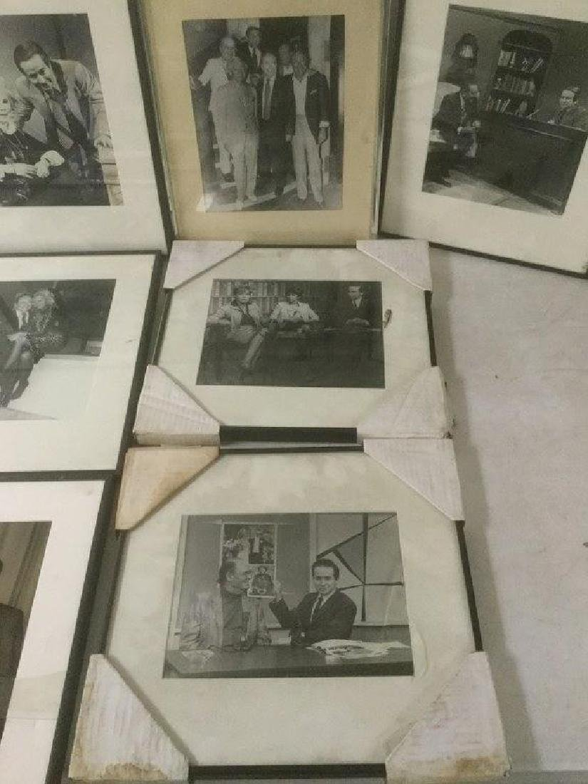 JOE FRANKLIN RADIO HOST ICON-10 FRAMED PHOTOS FROM HIS - 5