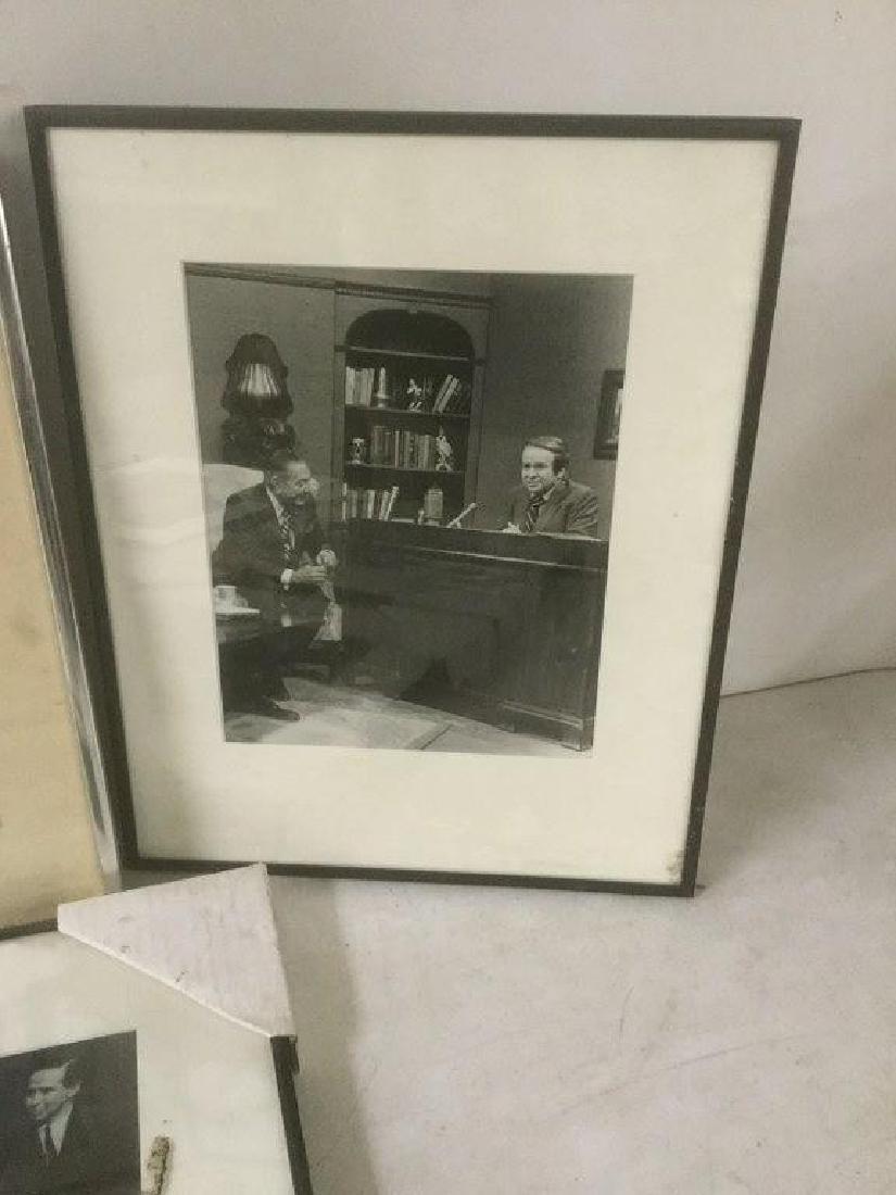 JOE FRANKLIN RADIO HOST ICON-10 FRAMED PHOTOS FROM HIS - 6