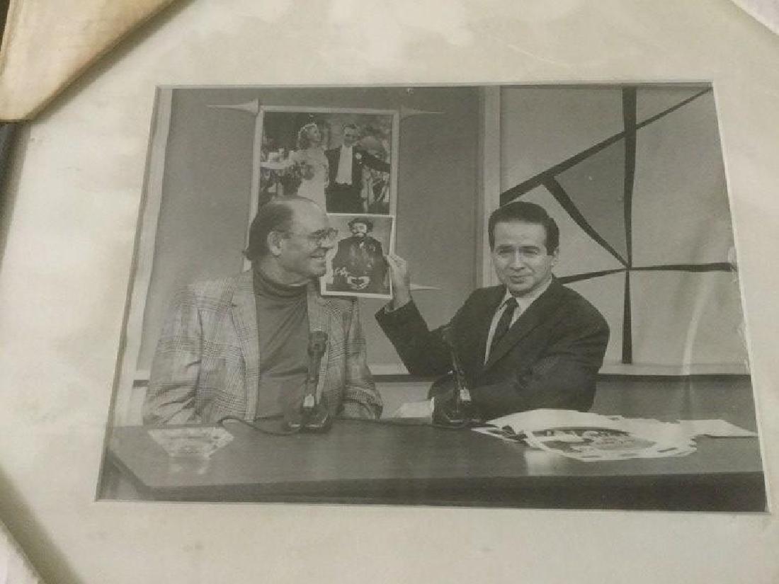 JOE FRANKLIN RADIO HOST ICON-10 FRAMED PHOTOS FROM HIS - 7