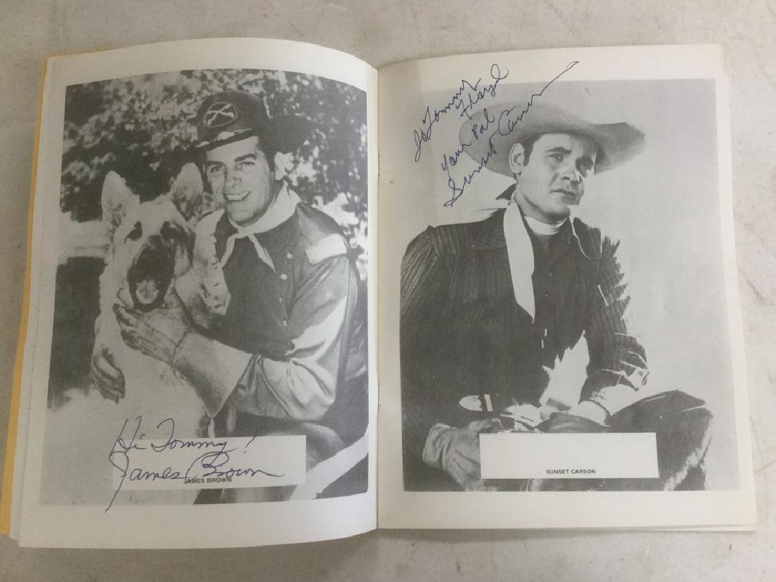 AUTOGRAPHED PROGRAM FROM FOURTH ANNUAL WESTERN FILM - 3