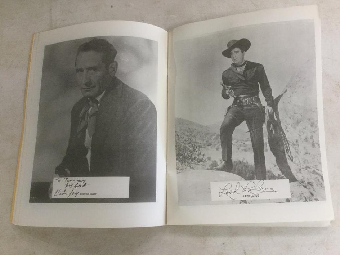 AUTOGRAPHED PROGRAM FROM FOURTH ANNUAL WESTERN FILM - 4