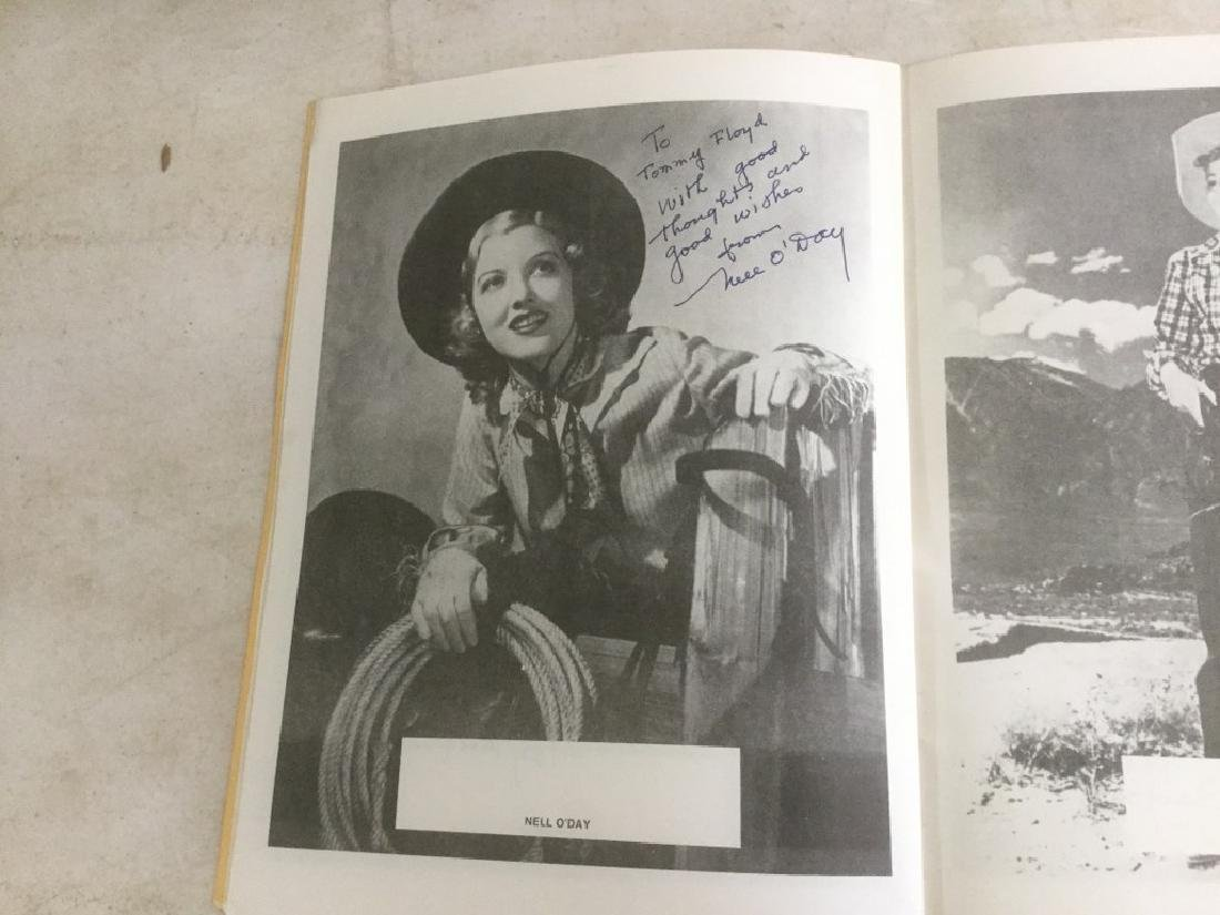AUTOGRAPHED PROGRAM FROM FOURTH ANNUAL WESTERN FILM - 6