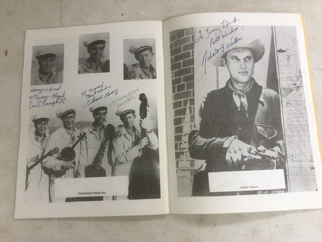 AUTOGRAPHED PROGRAM FROM FOURTH ANNUAL WESTERN FILM - 8