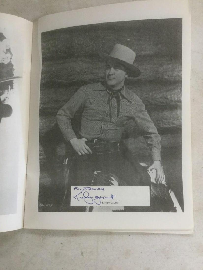 AUTOGRAPHED PROGRAM FROM FOURTH ANNUAL WESTERN FILM - 9