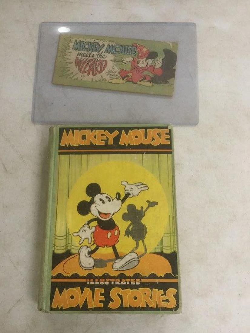 BOOK & COMIC BOOK-MICKEY MOUSE MOVIE STORIES BOOK,