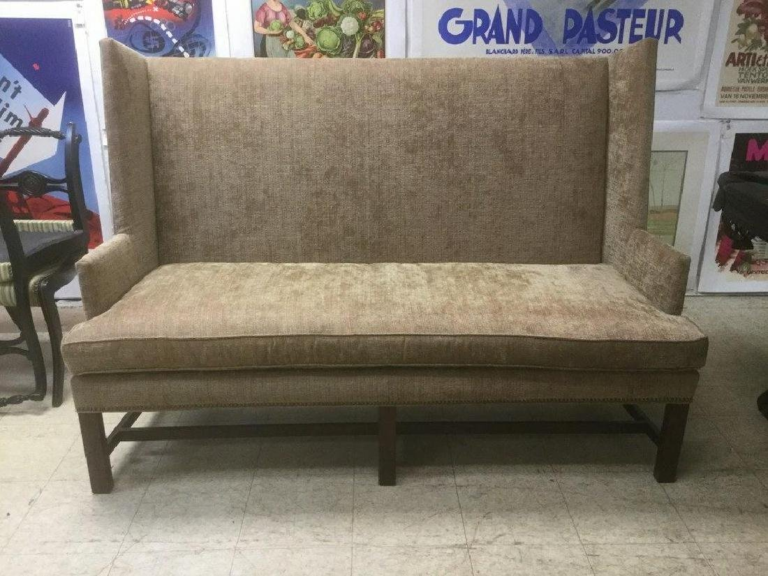 HICKORY CHAIR CO. BANQUETTE BENCH THAT WAS AROUND NEW