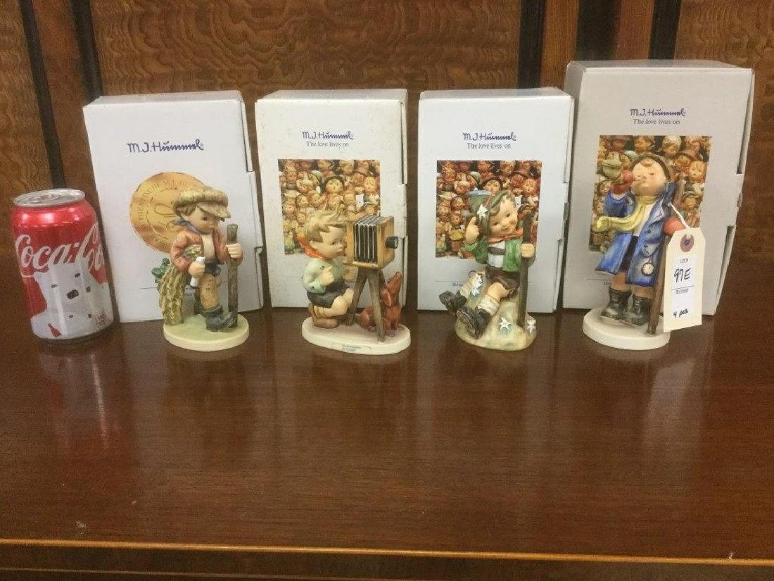 4 HUMMEL FIGURINES INCLUDING 15/1, 315, 178 & 386 WITH