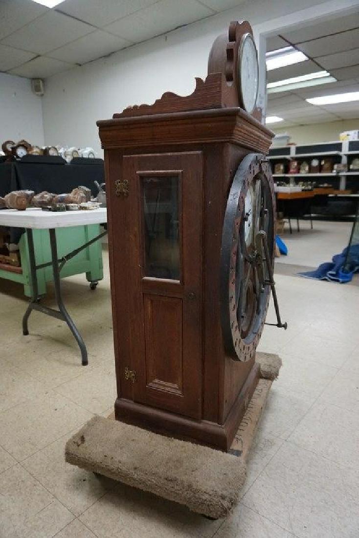DEY TIME REGISTER CLOCK, ORIGINAL FINISH, ORIGINAL - 2