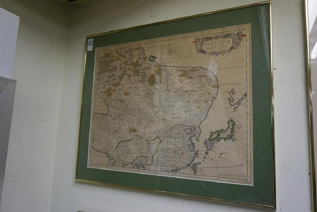 EARLY CHINA MAP TABULA TARTARIE ET MAJORIS PARTIS REGNI