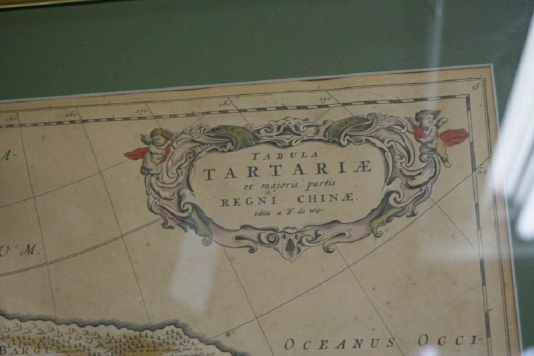 EARLY CHINA MAP TABULA TARTARIE ET MAJORIS PARTIS REGNI - 3