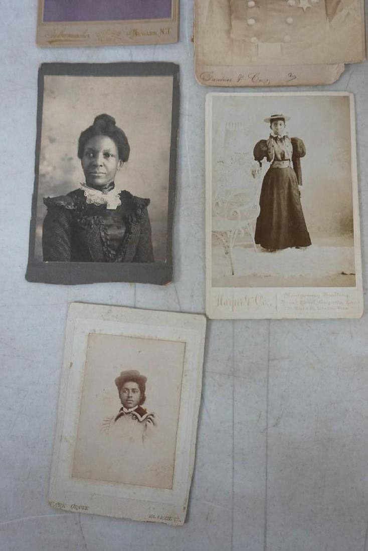 PHOTOGRAPH LOT INCL. CABINET CARDS OF MEMBERS OF 327 ( - 5