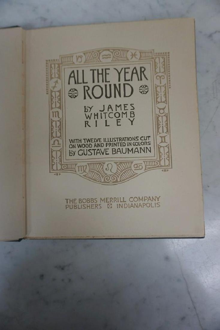BOOK-ALL THE YEAR ROUND, WOODCUTS BY GUSTAVE BAUMANN, - 2