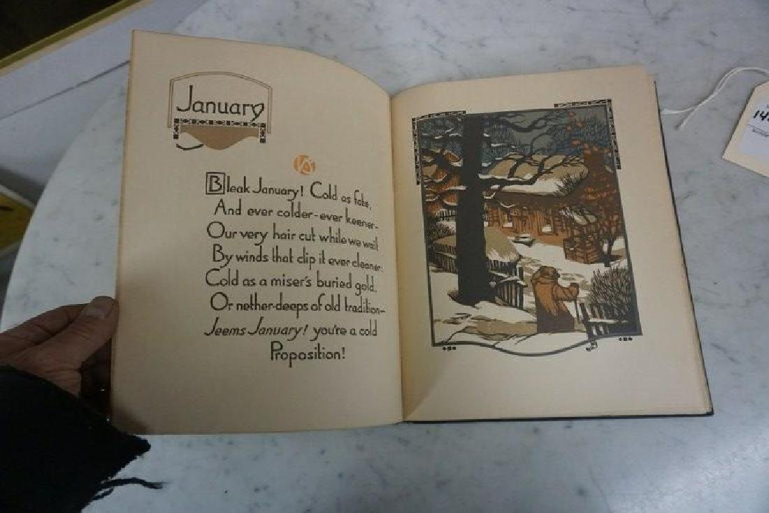 BOOK-ALL THE YEAR ROUND, WOODCUTS BY GUSTAVE BAUMANN, - 6