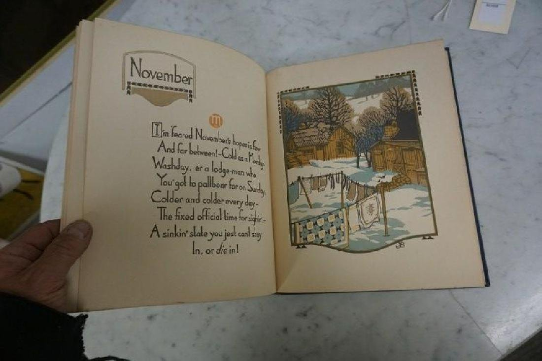 BOOK-ALL THE YEAR ROUND, WOODCUTS BY GUSTAVE BAUMANN, - 7