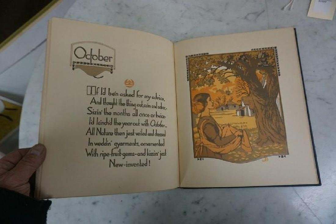 BOOK-ALL THE YEAR ROUND, WOODCUTS BY GUSTAVE BAUMANN, - 8
