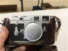 LEICA M3 DBP 35MM CAMERA WITH CASE, IN AS IS ESTATE