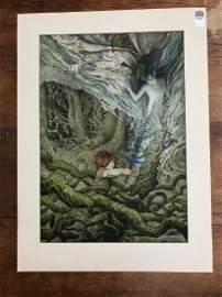 BRIAN FROUND ORIGINAL ILLUSTRATION (ONCE UPON A TIME