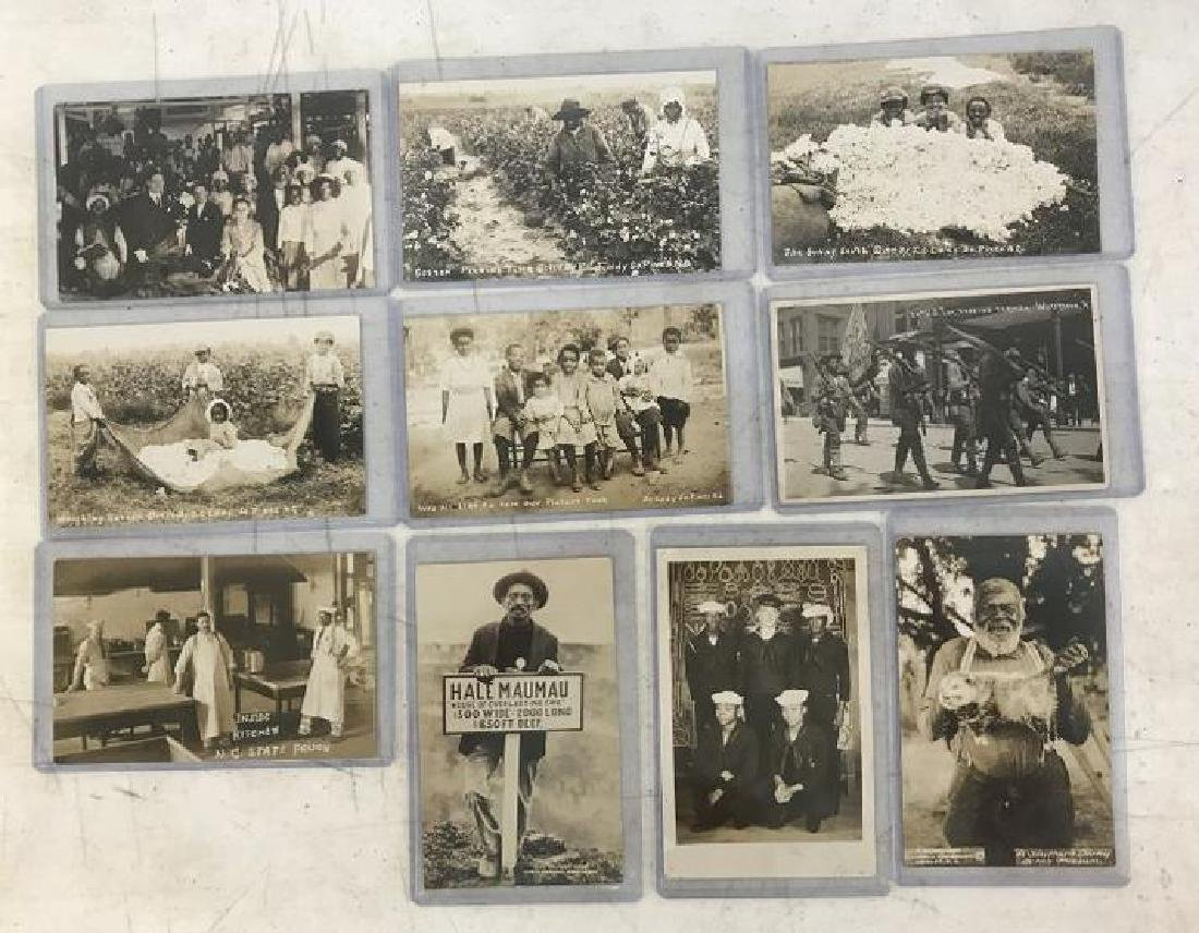 (10) RPPC AFRICAN AMERICANS INCL. MILITARY, PRISON,
