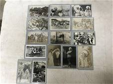 (15) RPPC NATIVE AMRICAN INDIANS, INTERESTING LOT, WITH