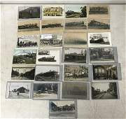 (25) TRAINS, TROLLEYS, DEPOT'S AND RELATED RPPC'S AND