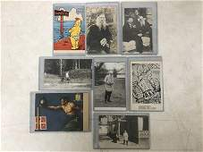 8 FACISM  WAR RELATED POSTCARDS INCL 4 RPPC