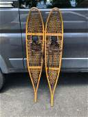 OLDER PAIR OF FABER SNOWSHOES NICE ESTATE CONDITION