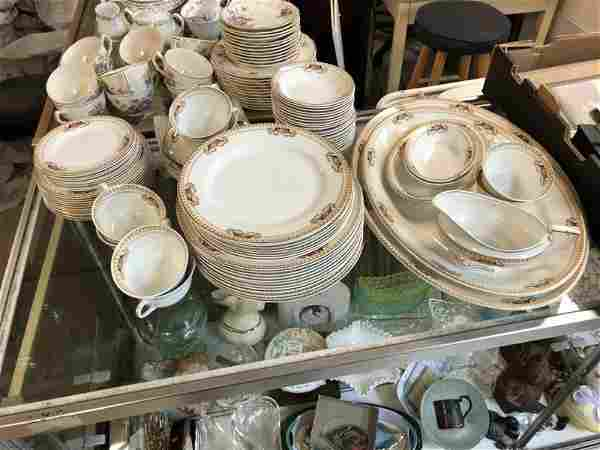 (2) PARTIAL SETS OF OLD CHINA, INCL. LARGER SET OF