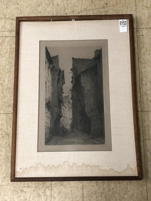 CHARLES FORGET (FRANCE 19TH-20TH C ) SIGNED PARIS