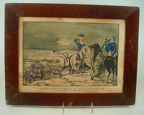 WASHINGTON CROSSING THE DELAWARE, EVENING PREVIOUS TO T