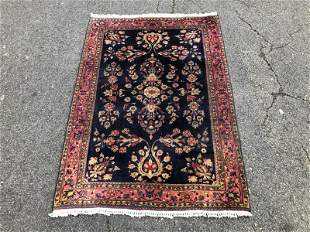 HANDMADE ORIENTAL SCATTER RUG, VIBRANT COLORS, FINELY