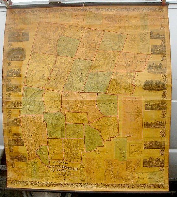 2: CLARKS 1859 LITCHFIELD CT ROLL DOWN MAP PHILADELPHIA