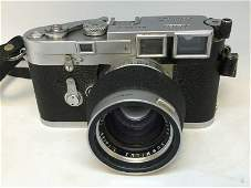 LEICA M3 355 MM CAMERA, WITH QUALITY LENS, FROM LOCAL