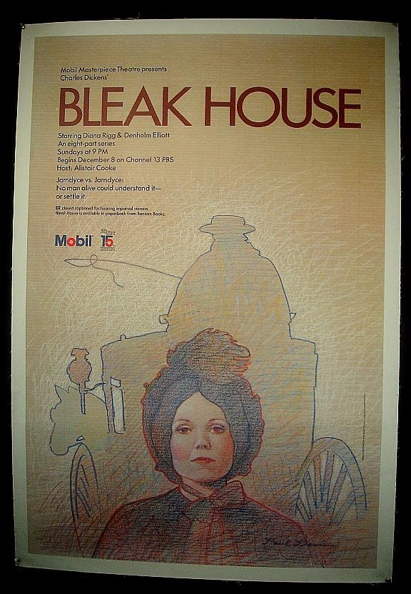 19: POSTER-MOBIL BLEAK HOUSE THEATER POSTER, MEASURES 4