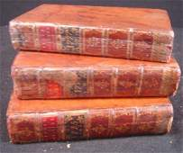147: 3 VOLS 1775,76,77 THE ANNUAL REGISTER, OR A VIEW O