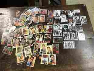 (104) NON SPORT CELEBRITY CARDS, MOST ALL SINGERS &