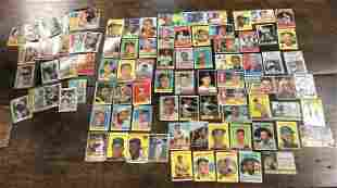 (108) OLDER BASEBALL CARDS, MANY 50'S AND 60'S, LOTS OF