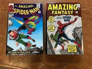 SPIDER-MAN MARVEL OMNIBUS 1 & 2 HARDCOVER EDITIONS
